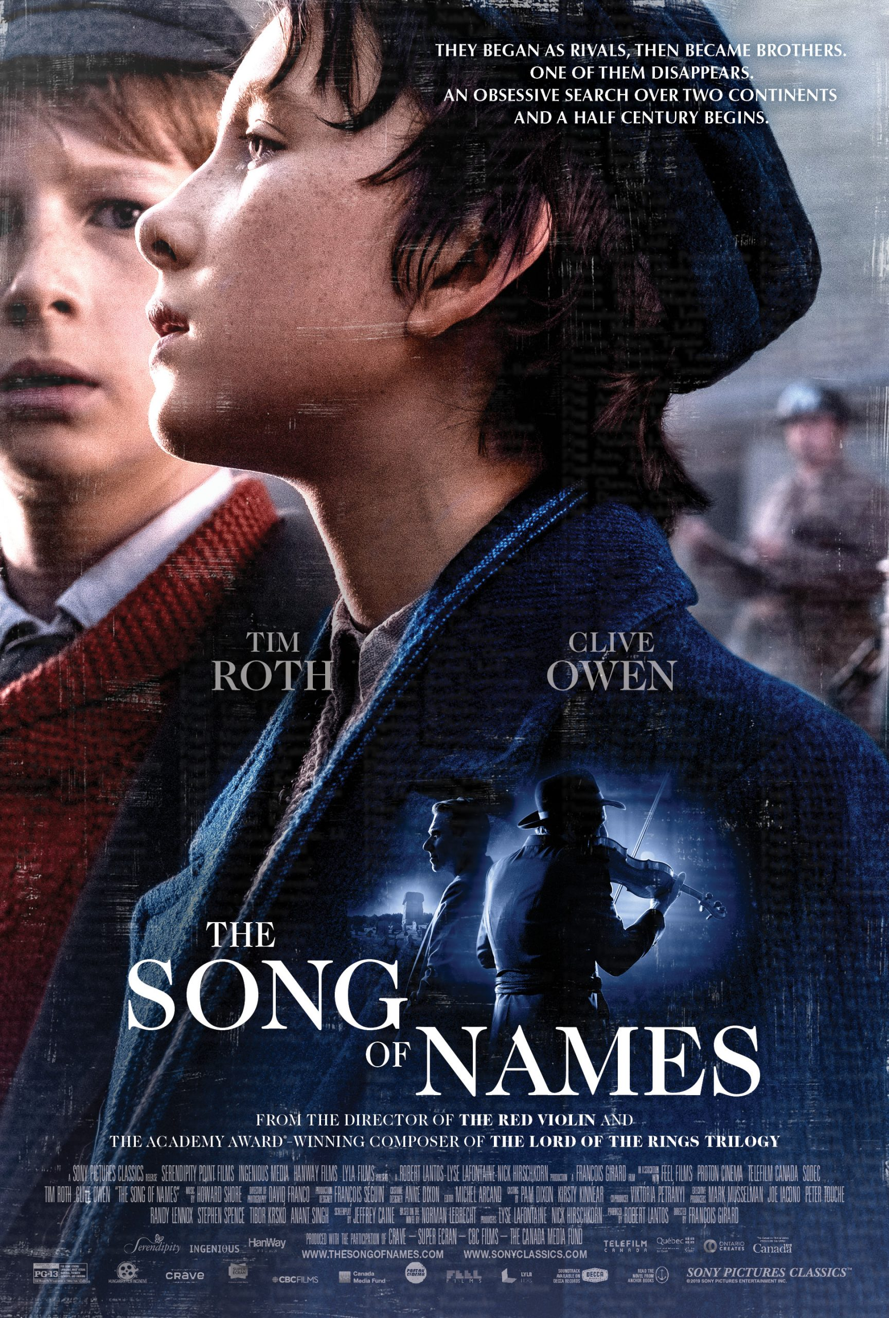 The Song of Names hd izle
